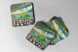 craven cottage  Coaster set of four